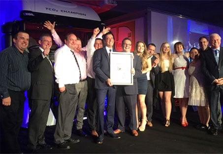 Assetminder wins Innovation award at Fleet Transport Awards